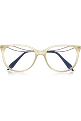 Victoria Beckham Kitten Cat Eye Acetate Optical Glasses