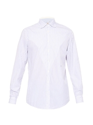 Massimo Alba Genova Double Stripe Cotton Shirt