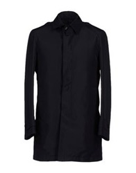 Havana And Co. Full Length Jackets Dark Blue