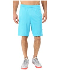 Nike Elite Stripe Short Omega Blue Black White Metallic Silver Men's Shorts