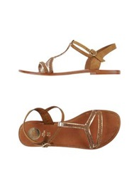 Have A Nice Day Sandals Khaki