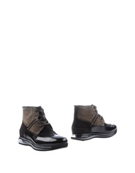 Barracuda Ankle Boots Grey