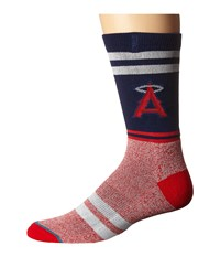 Stance Angels Red Men's Crew Cut Socks Shoes