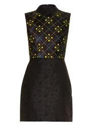Mary Katrantzou Sequin Embellished Jacquard Dress