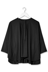 Oversized Blouse By Boutique Black