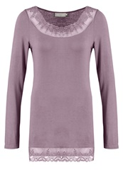 Cream Florence Long Sleeved Top Stone Brown Taupe