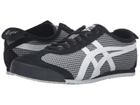 Onitsuka Tiger By Asics Mexico 66 Black White Lace Up Casual Shoes