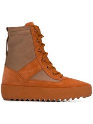 Yeezy Season 3 Military Boots Yellow Orange