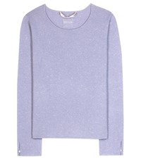 81 Hours Candy Cashmere Sweater Purple
