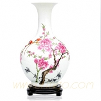 Hand Painted Flower Vase Uf Pv009 59.00 Buy Unique Craft Gifts From Best Online Shop Ufingo