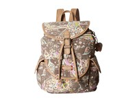 Sakroots Artist Circle Small Flap Backpack Slate Songbird Sequins Backpack Bags Multi
