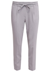 Opus Melosa Trousers Soft Grey