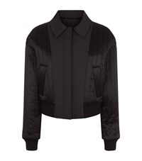 Dkny Reversible Bomber Jacket Female Black