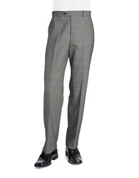 Palm Beach Sam Flat Front Suit Pants Grey