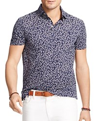 Polo Ralph Lauren Floral Print Regular Fit Jersey Polo Chamomile Floral