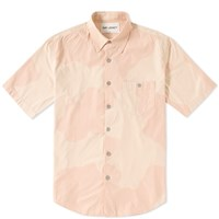 Our Legacy Short Sleeve Jumbo Shirt Pink