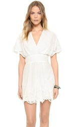 6 Shore Road Honeymooners Dress Moonlight White