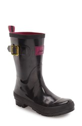 Joules Women's 'Kelly Welly' Rain Boot Black