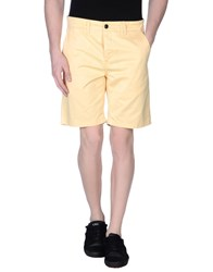 Norse Projects Trousers Bermuda Shorts Men Light Yellow