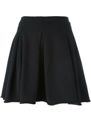 Thom Krom Pleated Skirt Black