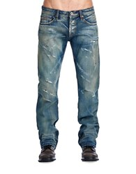 Cult Of Individuality Hagen Relaxed Jeans Blue