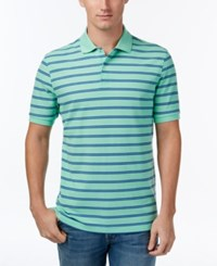 Club Room Men's Striped Polo Only At Macy's Neptune Beso