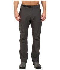Black Diamond B.D.V. Pants Slate Men's Casual Pants Metallic