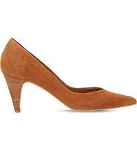 Dune Adelaide Slip On Suede Courts Tan Suede