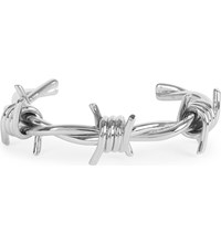 Givenchy Crown Silver Plated Brass Cuff