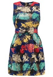 Molly Bracken Cocktail Dress Party Dress Navy Blue Dark Blue