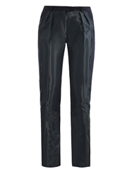 Preen Fold Coated Panel Trousers