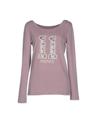Duck Farm Topwear Sweatshirts Women Lilac