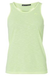 Only Play Onpjustice Sports Shirt Neon Yellow Melange