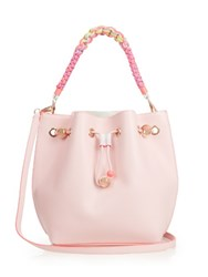 Sophia Webster Romy Leather Bucket Bag Pink Multi