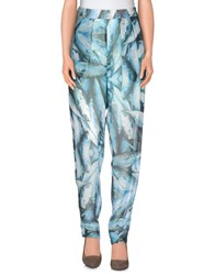 5Preview Trousers Casual Trousers Women Turquoise