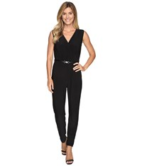 Nic Zoe Luxe Jersey Jumpsuit Black Onyx Women's Jumpsuit And Rompers One Piece