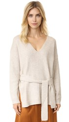 Elizabeth And James Barrett Sweater Oatmeal