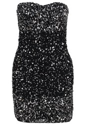 Frock And Frill Curve Savoy Cocktail Dress Party Dress Black