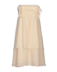 Betty Blue Short Dresses Ivory