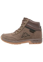 Kappa Bright Light Walking Boots Brown