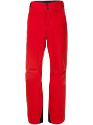 Aztech Mountain Performance Ski Trousers Red