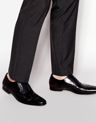 Dune Leather Oxford Brogues Black