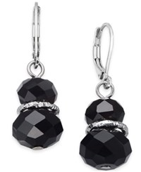 Charter Club After Party Silver Tone Roundel Bead Drop Earrings Only At Macy's
