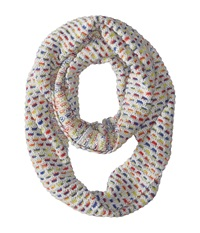 Echo Ombre Honeycomb Infinity Ring Light Grey Heather Scarves Gray