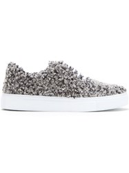 Amb 'Poodle' Sneakers Grey