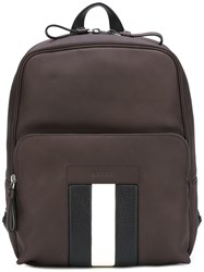 Bally Zipped Backpack Brown