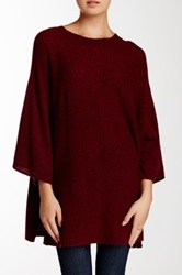 14Th And Union Short Sleeve Cashmere Sweater Red
