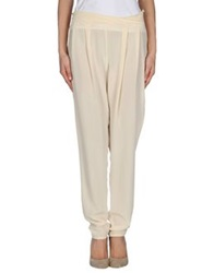 Crea Concept Casual Pants Ivory