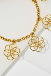 Nasty Gal Vintage Chanel Flower Charm Necklace