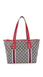 Wgaca Gucci Joli Coeur Tote Previously Owned Brown